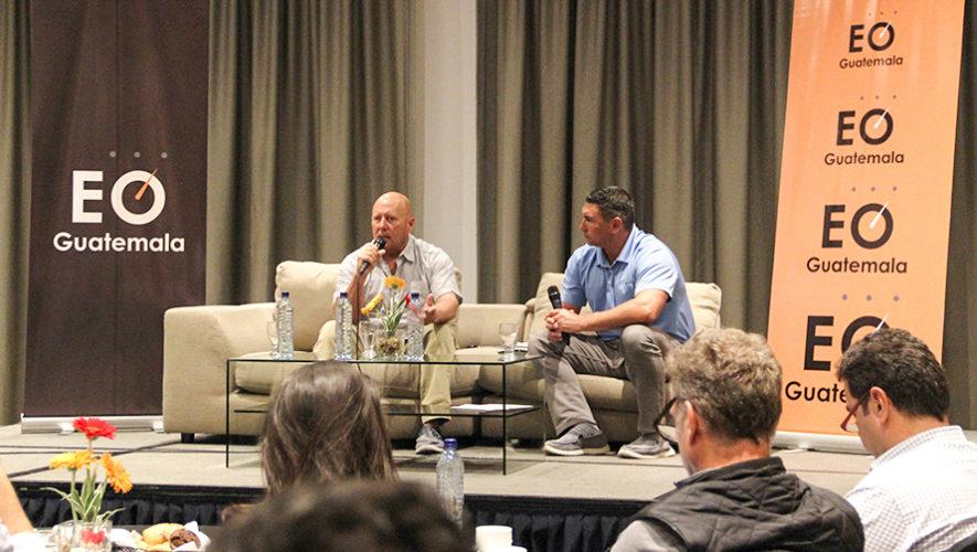 Scott Seamans, cofundador de Crocs, compartió experiencias con emprendedores de Guatemala