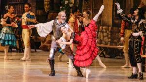Show de Don Quijote en danza en el Teatro Nacional |  Octubre 2018