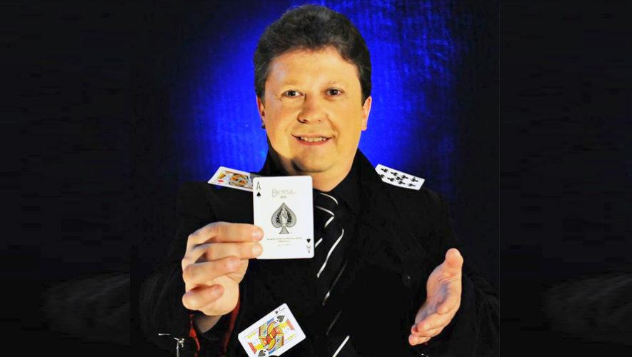 Show del campeón mundial de magia, Henry Evans, en Guatemala | Octubre 2018