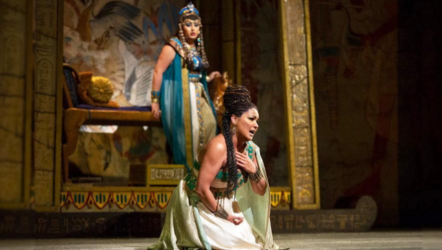 Transmisión en vivo de la ópera AIDA, de Verdi | Octubre 2018