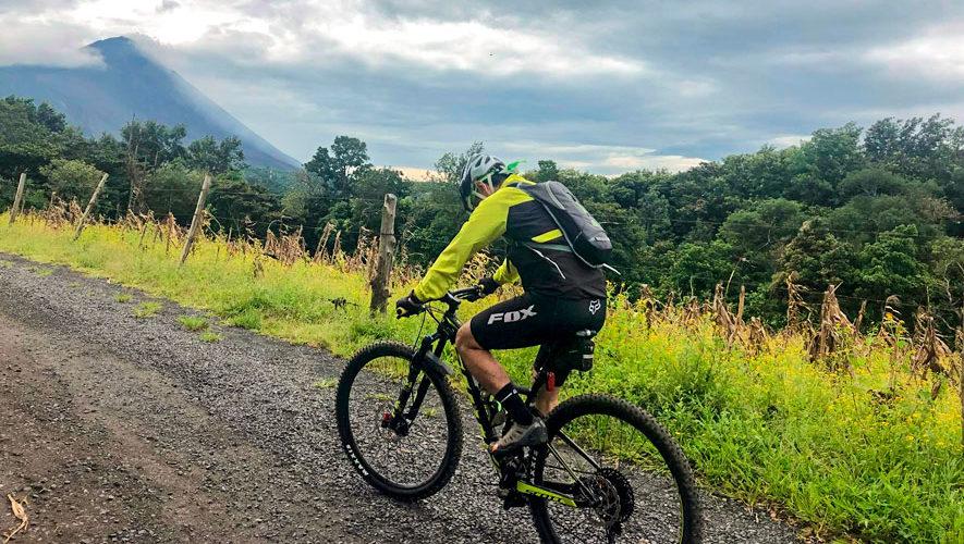 Travesía en bicicleta por los alrededores del Volcán Pacaya   Octubre 2018