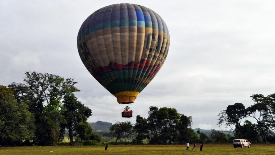 Vuelo en globo aerostático en la playa de Chiquistepeque | Noviembre 2018