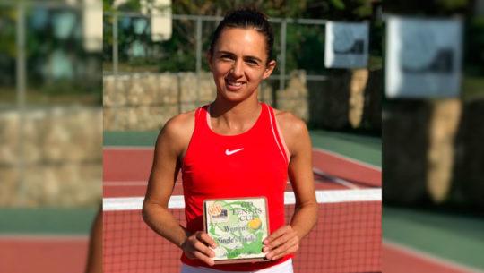 Andrea Weedon, subcampeona en el Torneo Futuro de Antalya 2018