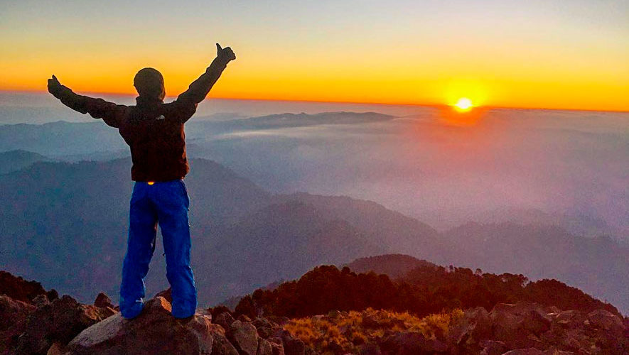 Ascenso de fin de año al volcán Tacaná   Diciembre 2018
