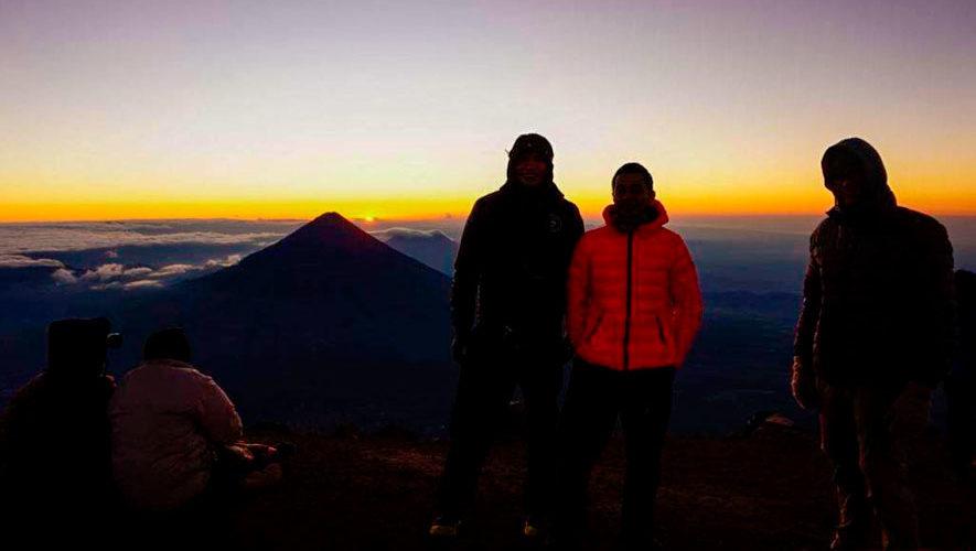 Ascenso nocturno para ver el amanecer en el volcán Acatenango | Noviembre 2018
