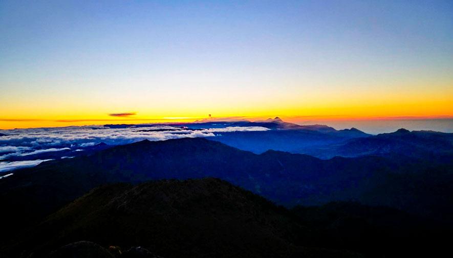 Volcán Tajumulco - Amanecer