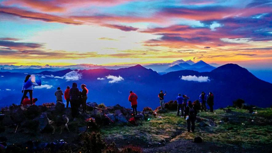 Campamento en el volcán Santa María | Noviembre 2018