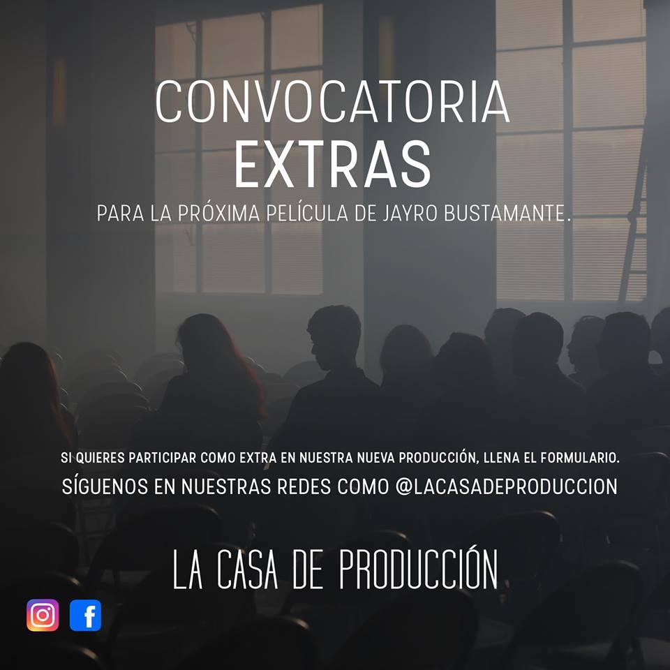 Casting para actuar en película de Jayro Bustamante, noviembre 2018