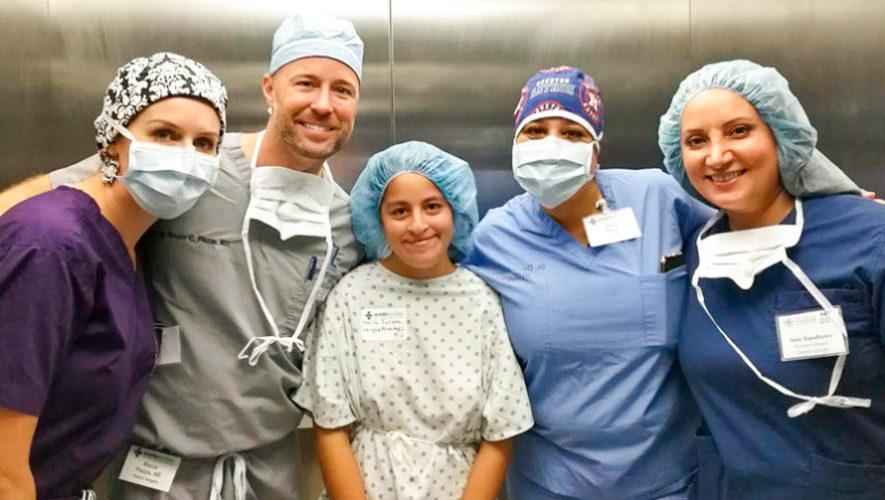 Cirugía plástica gratuita para niños y adolescentes, noviembre 2018