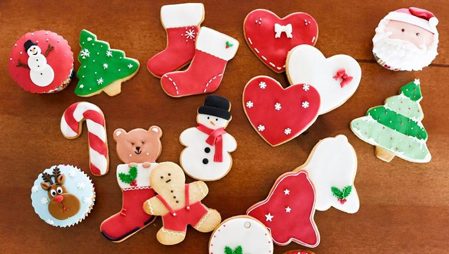 Clase de galletas navideñas en Guatemala