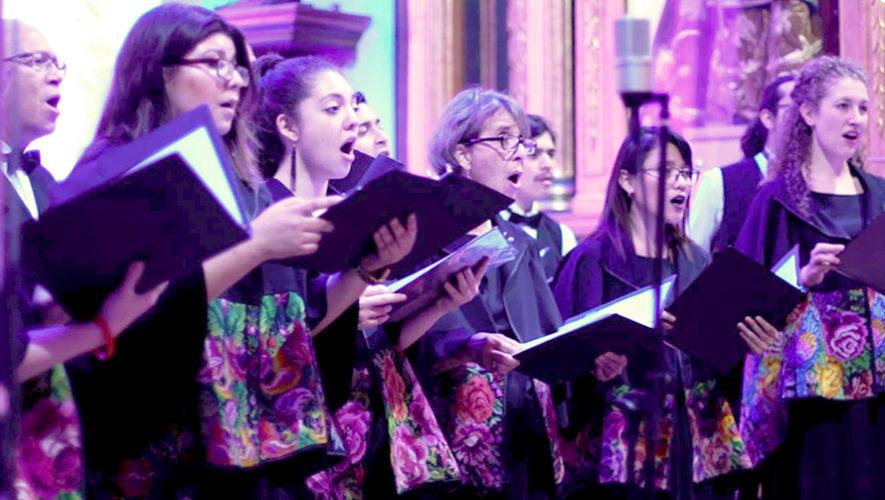 Concierto navideño e inauguración del Nacimiento de la Catedral de Antigua | Diciembre 2018