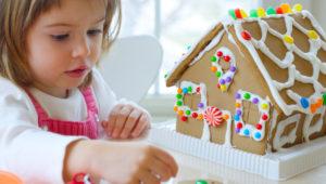 Concurso de decoración de casas de jengibre para niños   Diciembre 2018