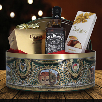 Consejos para armar una canasta navideña