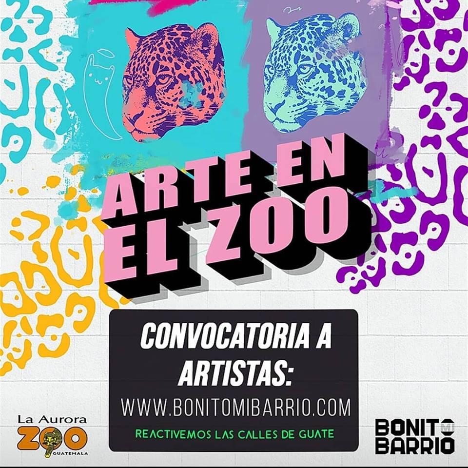 Convocatoria de artistas para el Festival de Murales en el Zoológico La Aurora
