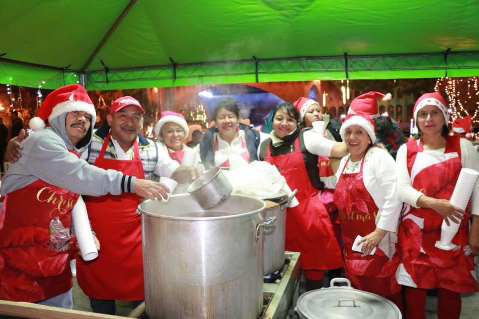 Convocatoria de voluntarios para entregar cenas navideñas