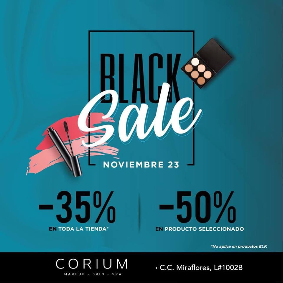Corium promociones de Black Friday