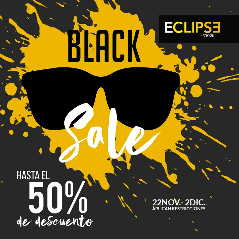 Eclipse Sunglasses promociones de Black Friday