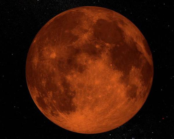 Eclipse de Luna desde Guatemala