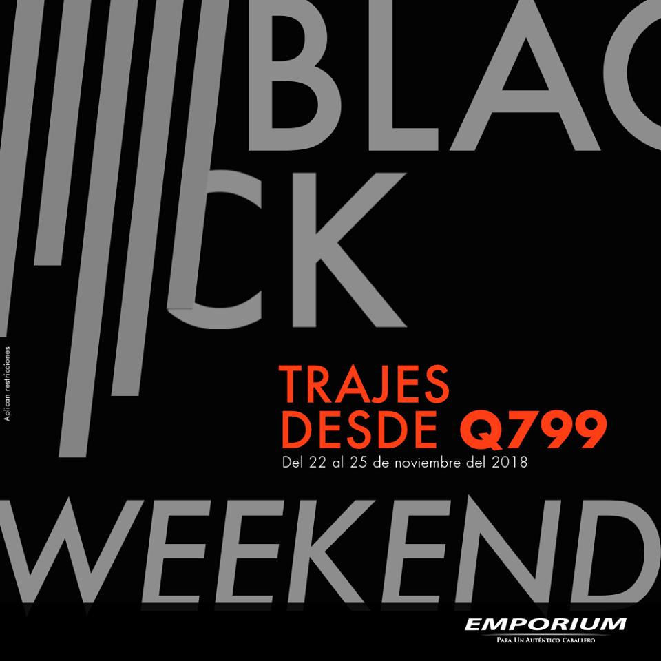 Emporium promociones de Black Friday