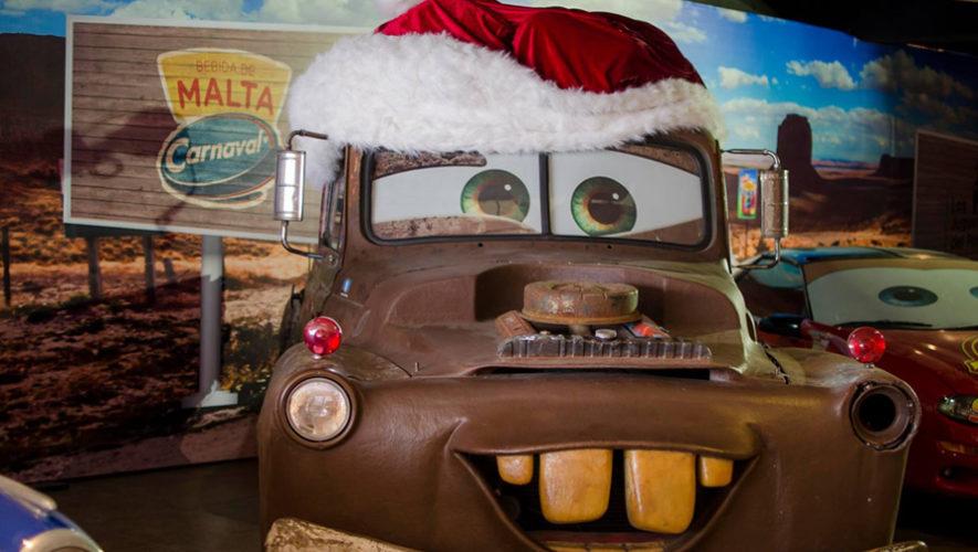 Exhibición de personajes de Cars en Carretera a El Salvador | Noviembre 2018