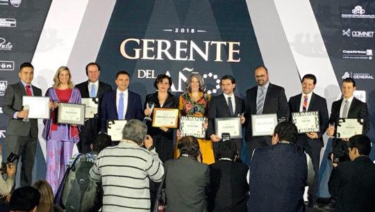 Ganadores del Premio Gerente del Año 2018 por la Asociación de Gerentes de Guatemala