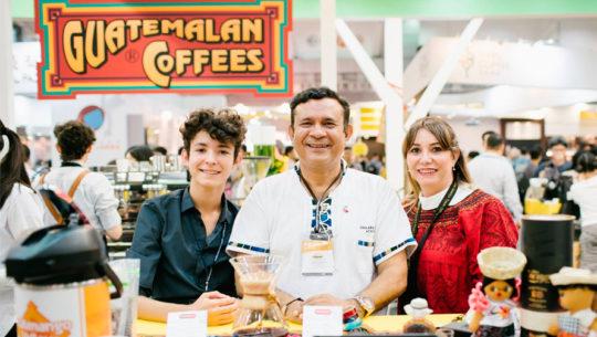 Guatemala participó en la Feria Internacional del Café 2018 en Taiwán, China