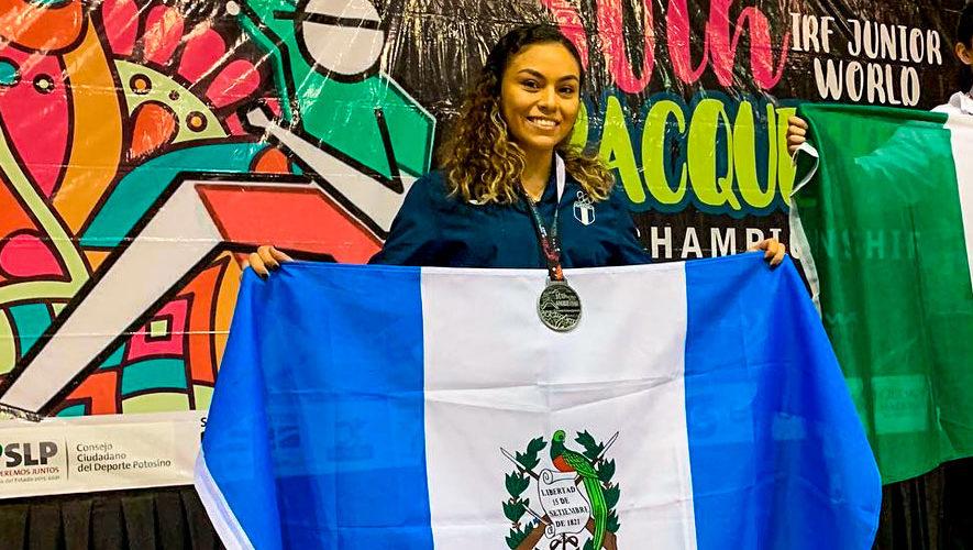Guatemala en el Mundial Juvenil 2018 de Ráquetbol