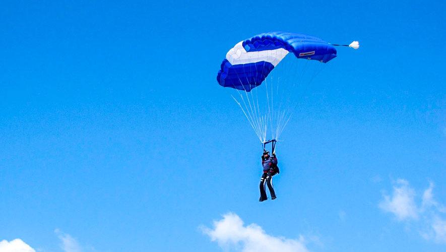 Guatemala, sede del Campeonato Centroamericano de Paracaidismo 2018
