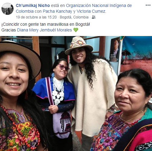 Guatemaltecas participaron en el Festival Internacional de Arte