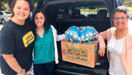 Guatemaltecos donan víveres para Navidad con el proyecto Caja del Amor, 2018