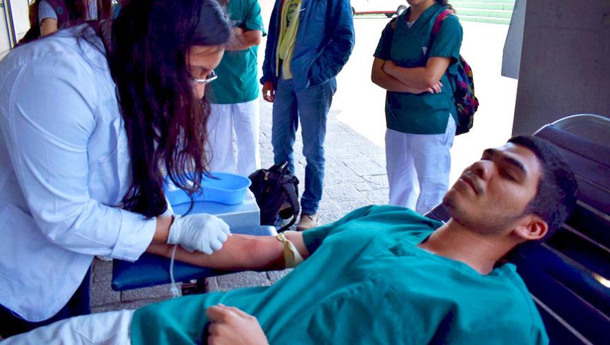 Jornada de donación de sangre en Guatemala | Noviembre 2018