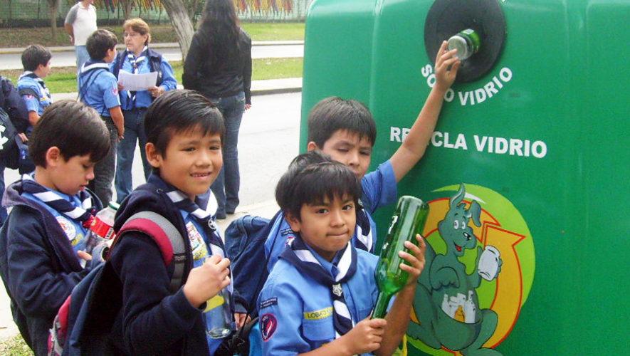 Jornada de reciclaje de vidrio en Guatemala | Noviembre 2018