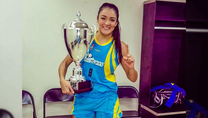 Linda González, campeona con el Correcaminos en la Liga Profesional de Panamá