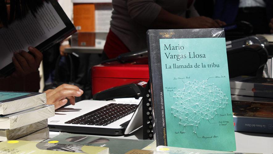 Mario Vargas Llosa presentó libro La Llamada de la tribu en Guatemala