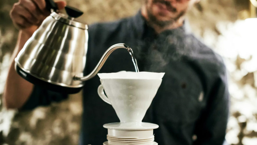 Taller gratuito de métodos de preparación de café en Saúl L'Osteria | Noviembre 2018