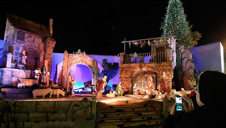 Nacimiento gigante y show de luces en San Juan del Obispo | Diciembre 2018