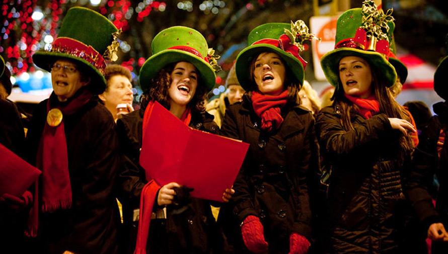 Noche gratuita de villancicos navideños en Guatemala
