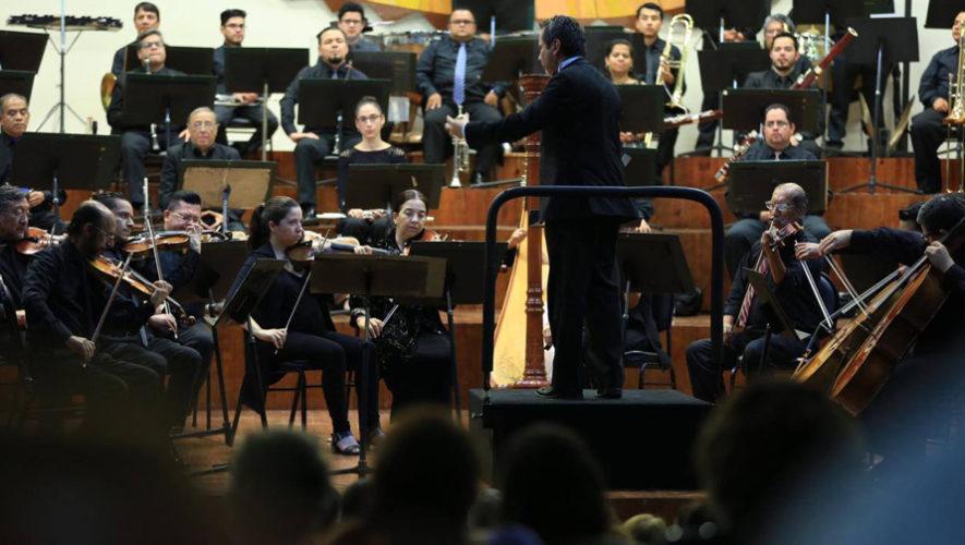 Concierto de obras guatemaltecas por la Orquesta Sinfónica Nacional | Noviembre 2018