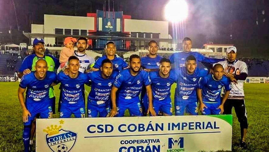 Partido de Cobán y Malacateco por el Torneo Apertura | Noviembre 2018