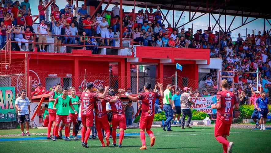 Partido de Malacateco y Antigua por el Torneo Apertura | Noviembre 2018