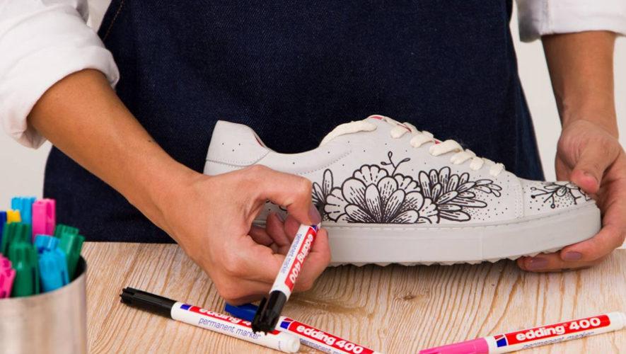 Taller para personalizar tus tenis de Aluna Shoes | Noviembre 2018