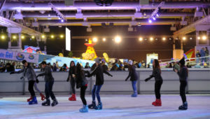 Pista de patinaje sobre hielo en Mixco | Diciembre 2018