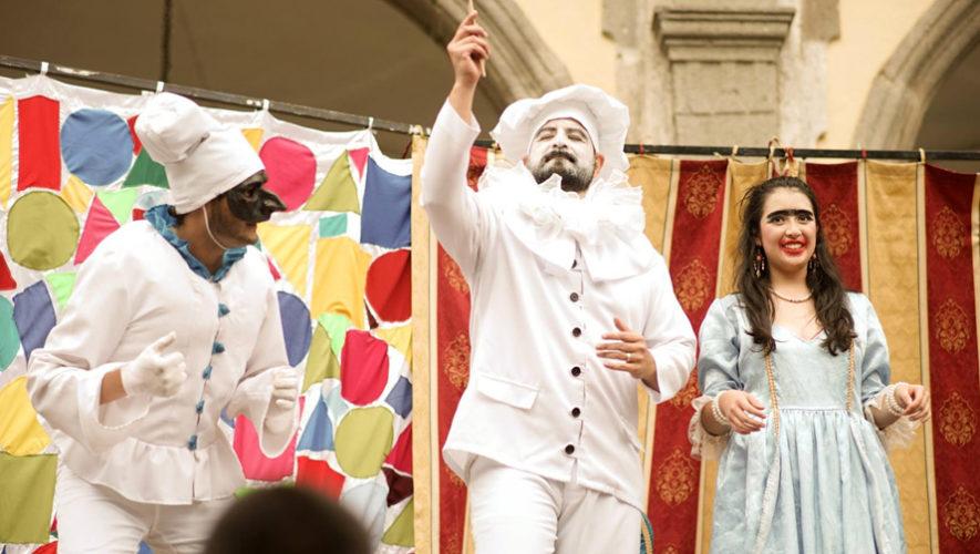 Primer Festival Teatrero en Antigua Guatemala | Noviembre - Diciembre 2018
