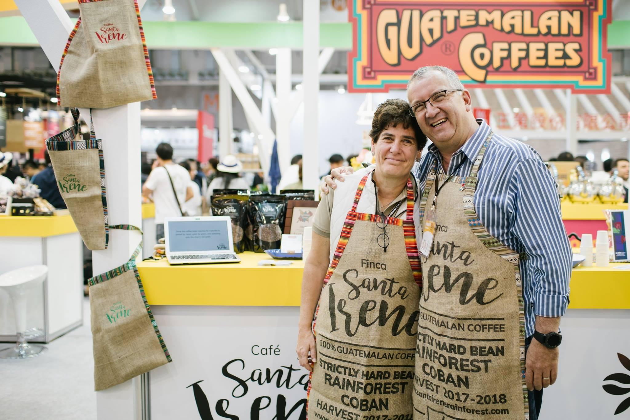 Productores de café representan a Guatemala