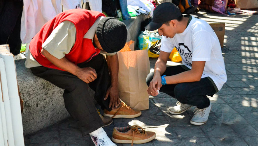 Recaudarán zapatos para personas en situación de calle, Ciudad de Guatemala