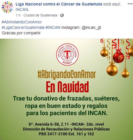 Recolectarán suéteres para los pacientes del INCAN, noviembre 2018