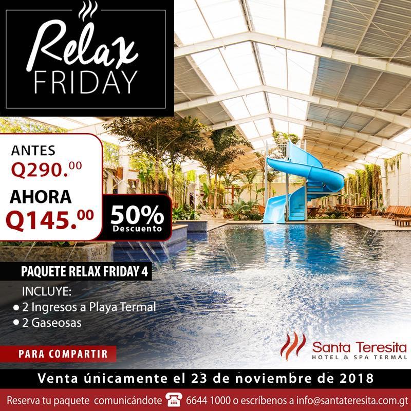 Santa Teresita promociones Black Friday