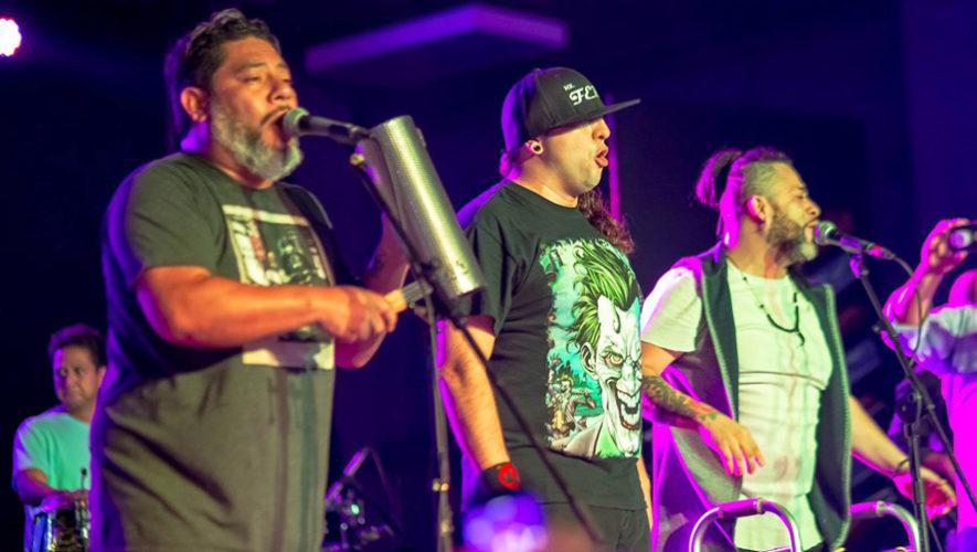 Show de luces y concierto de Los Miseria Cumbia Band en Plaza Américas, Mazatenango | Diciembre 2018