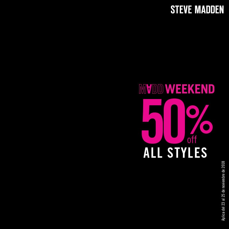 Steve Madden Black Friday