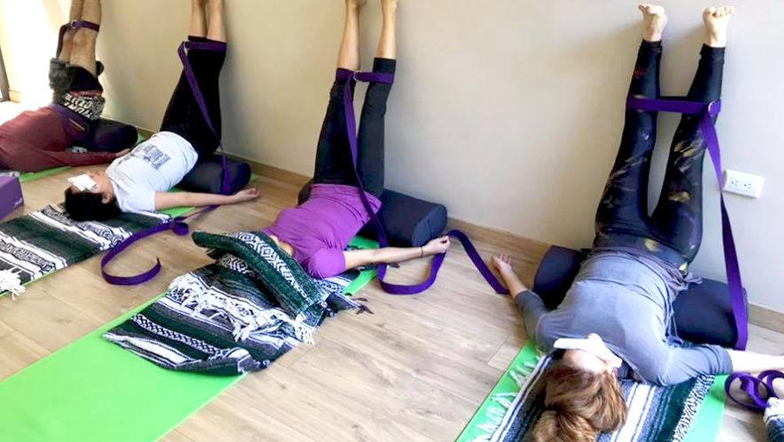 Taller de yoga restaurativo en zona 10 | Noviembre 2018